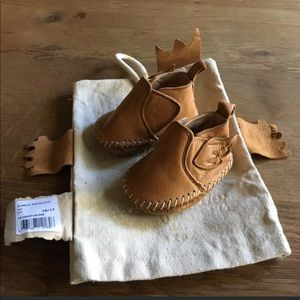 Easy Peasy Bomok Leather Baby Moccasins Shoes